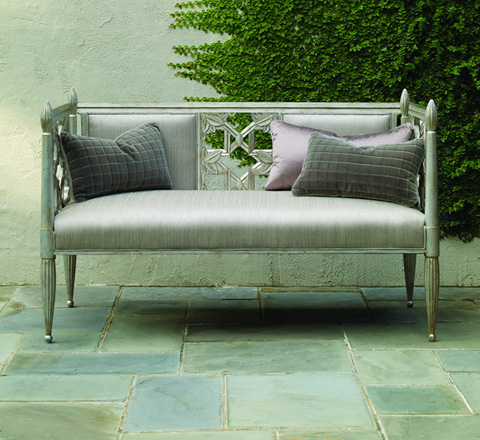 Caracole - Decked Out Settee - UPH-SETTEE-03A