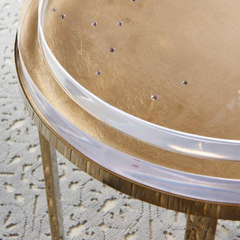 Caracole - Sparkler Accent Table - CON-ACCTAB-026