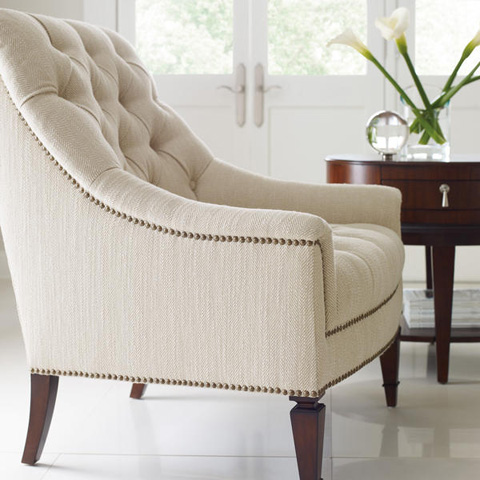 Caracole - Classic Elegance Tufted Chair - 9090-204-G