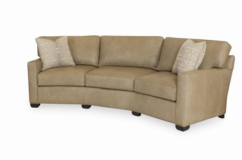 Century Furniture - Leatherstone Wedge Sofa - LR-7600-W