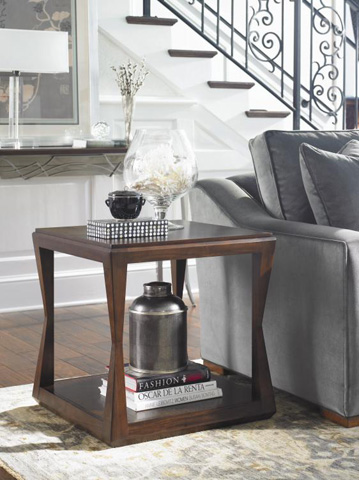 Century Furniture - Decoeur Square Chairside Table - 41H-623