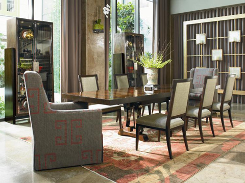 Century Furniture - Eshan Square Back Side Chair - 699-541