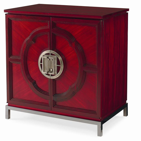 Image of Lotus Two Door Accent Cabinet