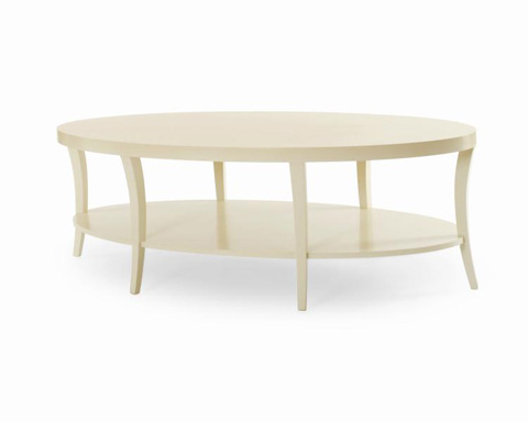 Century Furniture - Oval Cocktail Table - 339-607