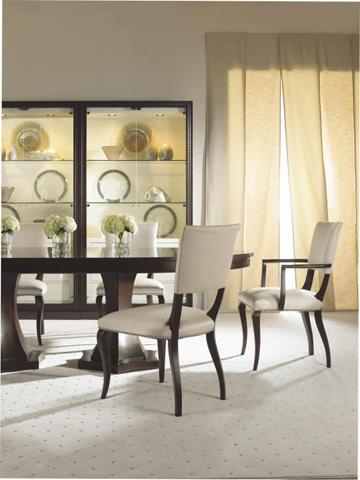 Century Furniture - Tribeca Dining Arm Chair - 339-532