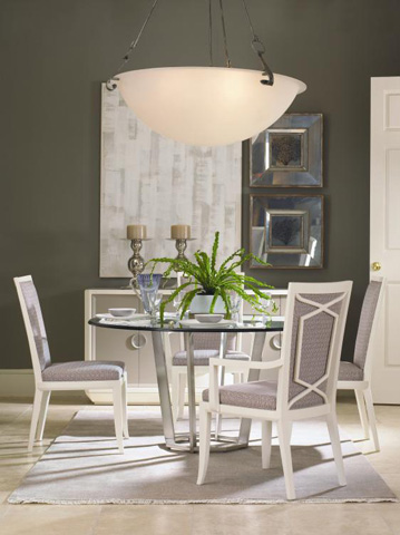 Century Furniture - Fair Park Round Metal Dining Table - 41A-305