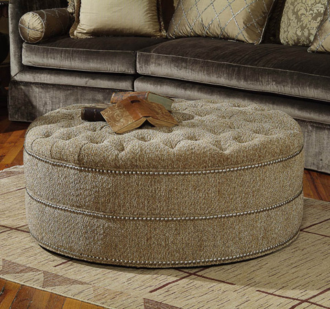 Century Furniture - Wesley Ottoman - 33-808