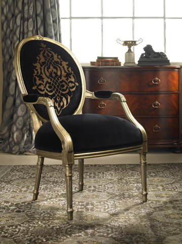 Century Furniture - Louis IV Fauteuil Chair - 3691
