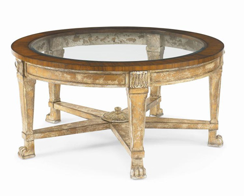 Century Furniture - L'etoile Cocktail Table - 599-601