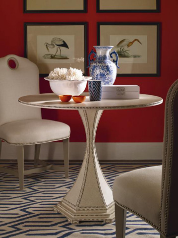 Century Furniture - Round Lamp Table - SF5231