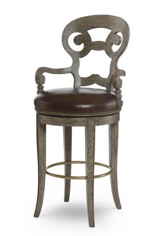 Century Furniture - Vienna Swivel Counter Stool - 3254C