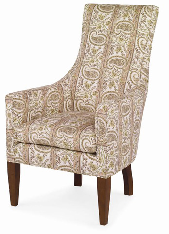 Image of Charlottesville Skirtless Wing Chair