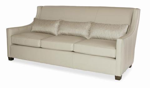 Century Furniture - Sawyer Leather Sofa - LR-28251