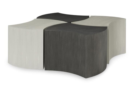 Century Furniture - Crescent Bunching Cocktail Table - D36-83G