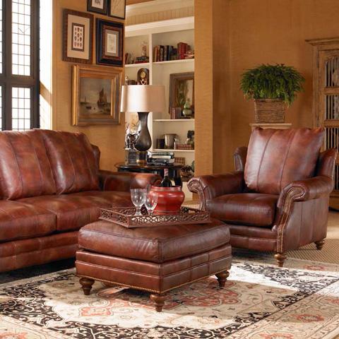 Century Furniture - Carmel Ottoman - LR-78014