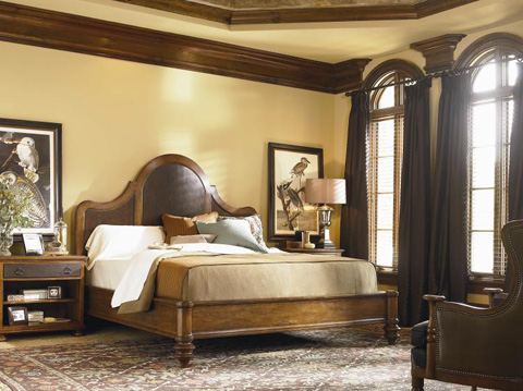 Century Furniture - King Woodside Manor Bed - T49-126