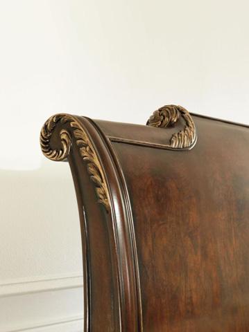 Century Furniture - King Platform Bed - 309-186