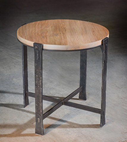 Charleston Forge - Woodland Round End Table - 6273