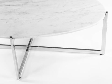 Control Brand - Oval Cocktail Table - FHT09WHT