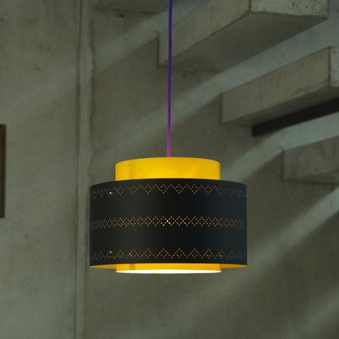 Control Brand - Venlo Black Yellow - LF1319BLKYEL