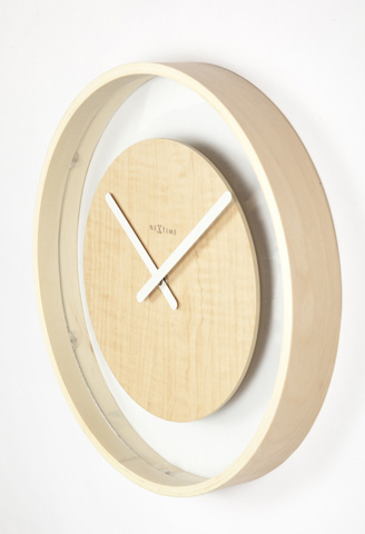 Image of Wood Loop Wall Clock