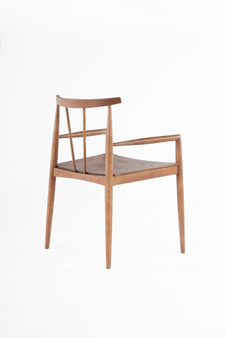 Control Brand - The Kay Chair - FAC1001WALNUT