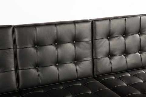 Control Brand - The Rago Sofa - FHC101BLK