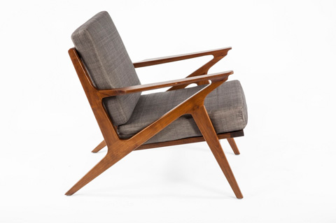 Control Brand - The Tamholt Lounge Chair - FL1310GREY