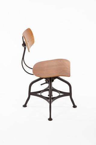 Control Brand - The Vreit Side Chair - FOC88745WALNUT