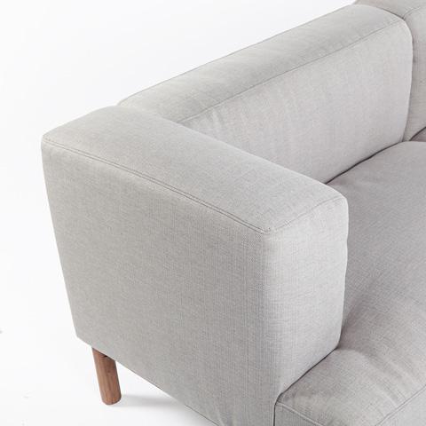 Control Brand - Bard Sofa - FSF01131LGREY