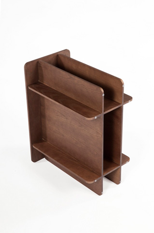 Control Brand - The House of Cards End Table - FST0041WALNUT