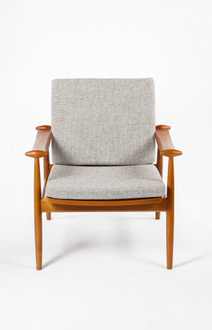 Control Brand - The Perm Lounge Chair - FX853GREY