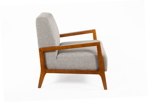 Control Brand - The Russell Lounge Chair - FXC103GREY