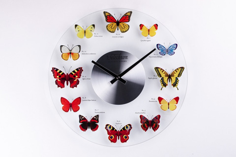 Control Brand - The Butterfly Wall Clock - G131714