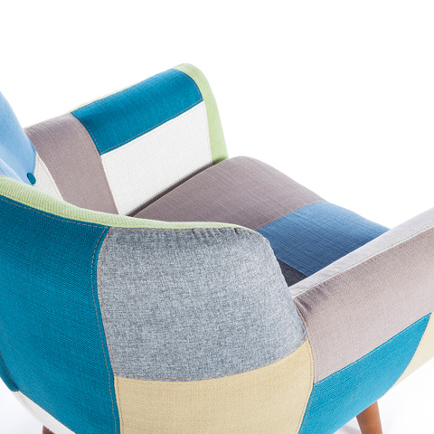 Control Brand - Erica Lounge Chair - FXC9401PATCH