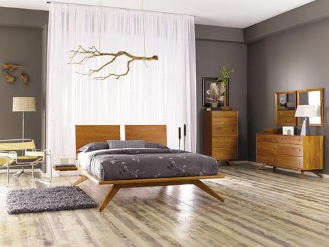 Copeland Furniture - Astrid 3 Drawer Nightstand - Maple - 2-AST-30