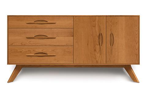 Copeland Furniture - Audrey 2 Door Buffet - Walnut - 6-AUD-52-04