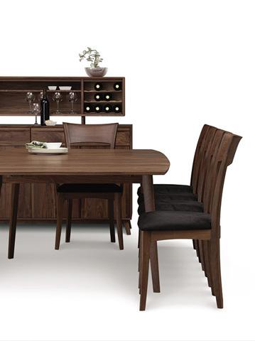 Copeland Furniture - Catalina Trestle Extension Table - Walnut - 6-CAL-19-04
