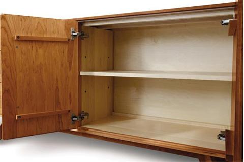 Copeland Furniture - Catalina 1 Drawer Buffet - Cherry - 6-CAL-30