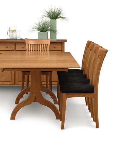 Copeland Furniture - Sarah Trestle Extension Table - 6-SAR-20