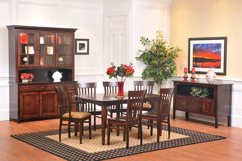 Country View Woodworking, Ltd - Leg Dining Table - 25-142602