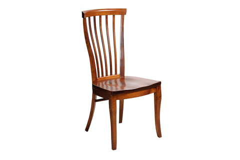 Image of Dining Chair with Wooden Seat