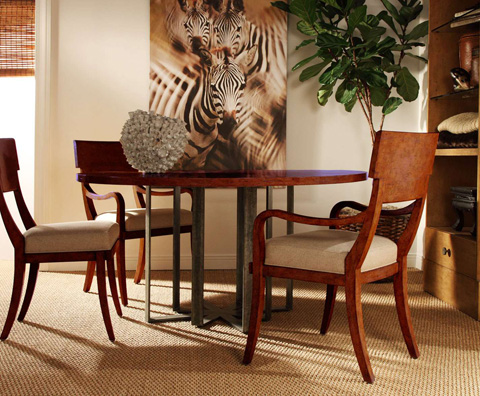 Curate by Artistica Metal Design - Round Dining Table - C103-100