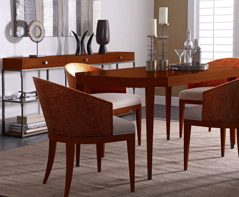 Curate by Artistica Metal Design - Extension Dining Table - C103-140