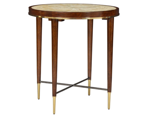 Curate by Artistica Metal Design - Stiletto Round End Table - C201-230