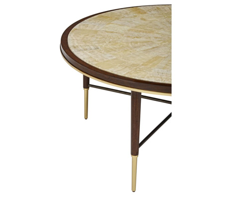 Curate by Artistica Metal Design - Stiletto Round Cocktail Table - C201-245