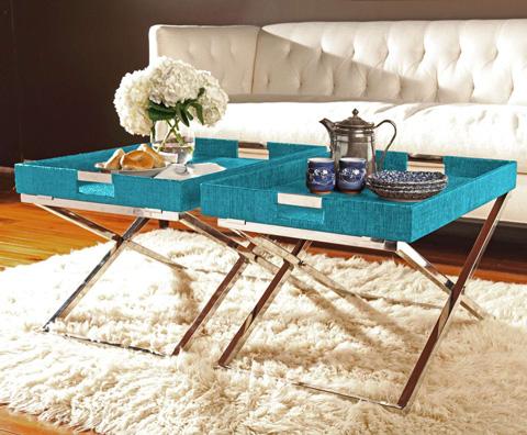 Curate by Artistica Metal Design - Hi-Lo Table - C208-310