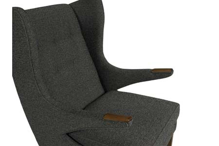 C.R. Laine Furniture - Bjorn Wing Chair - 1405