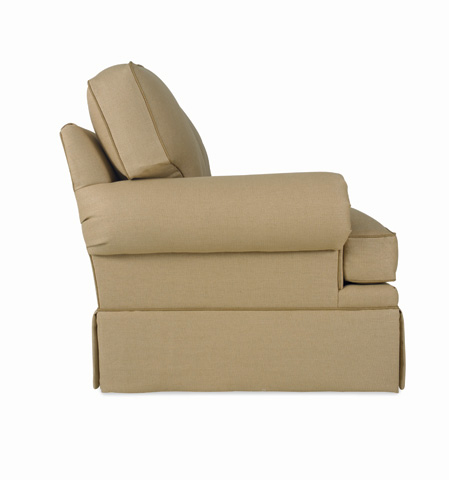 C.R. Laine Furniture - Custom Design Roll Panel Arm Sofa - CD8600R