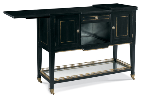 CTH-Sherrill Occasional - Mobile Bar with Storage - 960-021